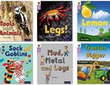 Six book covers of inFact titles