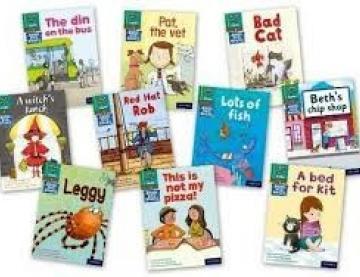 Ten Read Write Inc book covers