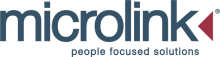 Microlink 'People focused solutions' logo and text