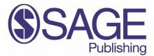 SAGE publishing logo blue on white background S inside a circle