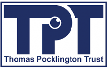 Thomas Pocklington Trust 'TPT' logo and text