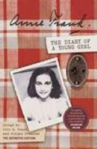 cover of 'Diary of a Young Girl' with a photo of Anne Frank