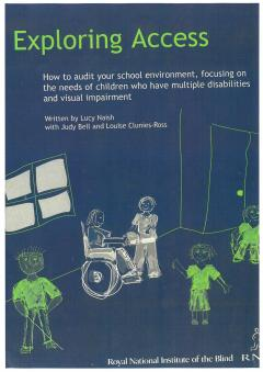 Book cover of RNIB's 'Exploring Access' book